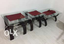 Three Coffee Tables (One Set)