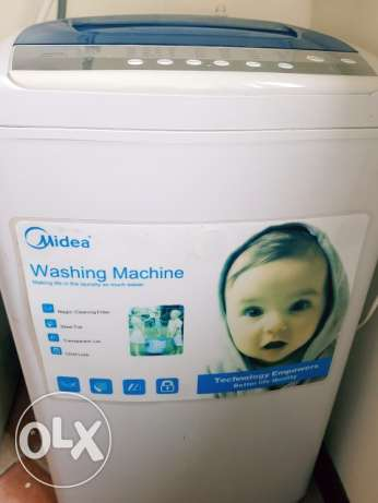 Fully Automatic 6 Kg MIDEA washing machine for urgent sale BD 40