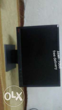 Monitor lcd for sale. . . Free delivery