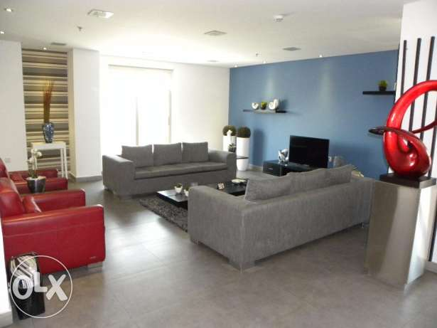 Juffair:- 2Bhk Fully Furnished Flat Available on Rent.. جفير -  1