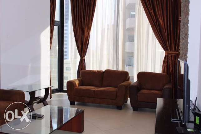 In Juffair apartment fully furnished 2 bedroom for rent