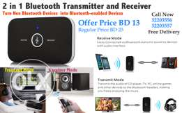 2 in 1 bluetooth transmitter and receiver