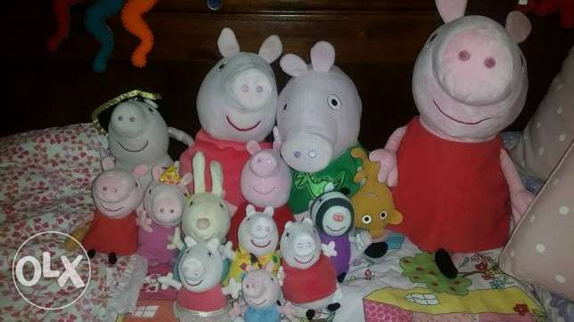 Peppa Pig & Friends Soft toys