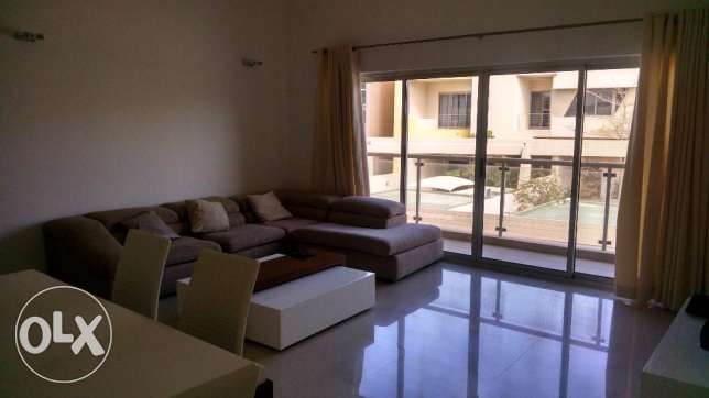 Spacious Building 2 BR Fully Furnished Apt in Amwaj