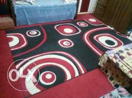 New rug red and black