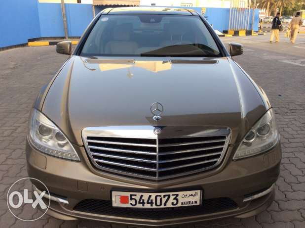 For Sale 2010 Mercedes Benz S350L AMG Single Owner Bahrain Agency