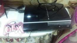 Playstation 3 for sale with 6 games and joystick