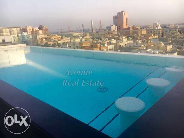 Um Al Hassam: Brand New 2 BR Modern flat with facilities!