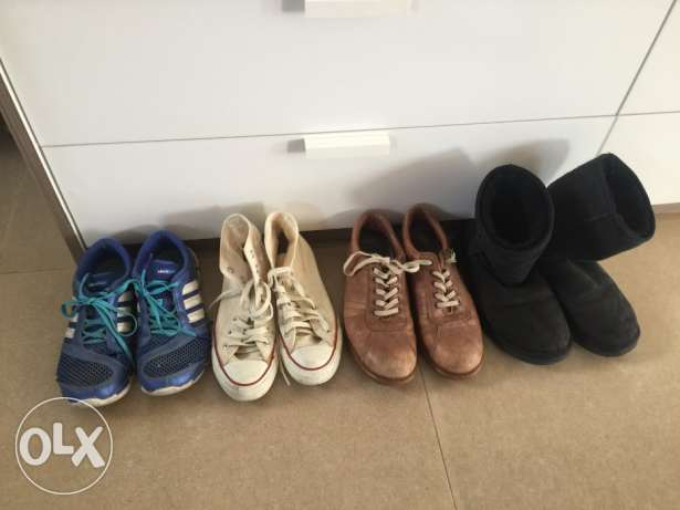 Ladies 7 pairs of shoes for sale!!