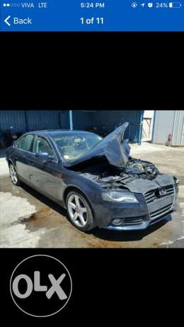 Audi spare parts available