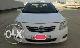 Toyota corolla 2008 genuine white 1.8 passing insur july 2017.