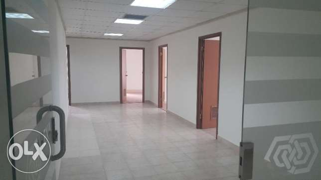 DIPLOMATIC AREA Very Spacious FITTED Office for rent with 8 Cabins