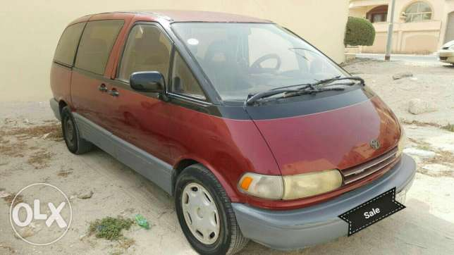 Toyota Previa 1991 for sale in good running condition