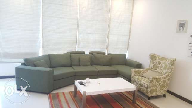 New hidd/ Super brand new 2 BHK apartment with balcony and Maidroom