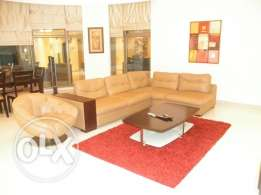 Three bedrooms fully furnished flat in Seef Area