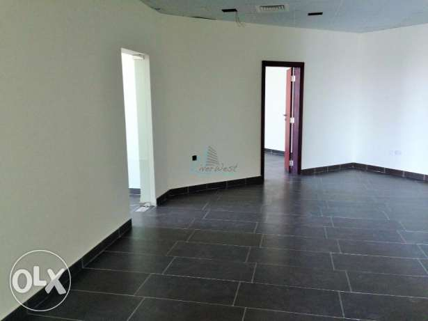 An open-floor plan Office Space for rent at Seef السيف -  8