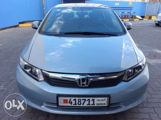 For Sale 2012 Honda Civic 1.8 Single Owner Bahrain Agency