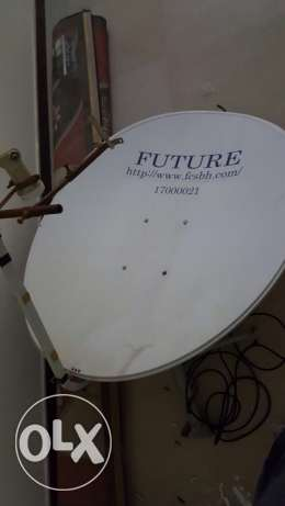 Satlite dish with lnb and wire for sale