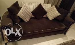 7 seater sofa set - Excellent condition, like new - from Home Centre