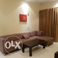 Furnished two bedroom apartment in a well maintained tower