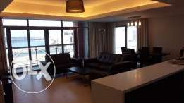 In Amwaj 2 Bedrooms flat, Brand new, Sea view