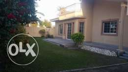 semi furnished compound villa close to Saudi cauway