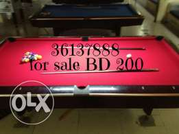 Billiard table for sale BD 200
