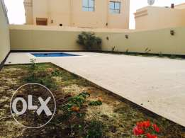 Brand new 4 bedrooms + villa for rent in Hamala. Private pool & Garden