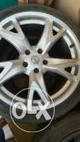 Nissan Z rims and tyres