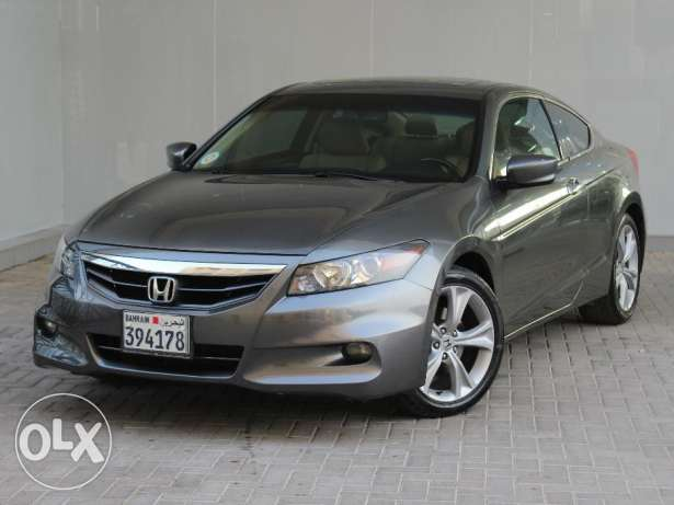 Honda ACCORD COUPE V6 2011 Grey For Sale
