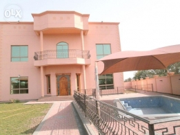 (JBS1)Modern Semi furnished villa for rent at janabiya