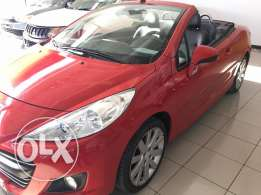 207CC 1.6 120HP, convertible roof, 2013 good condition immediate sale