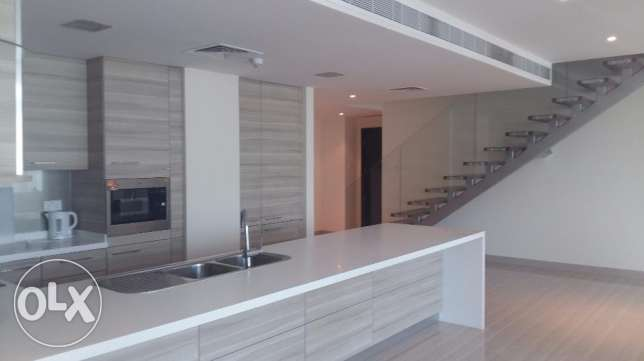 Charming lovely 3 Bed rooms Duplex apartment semi furnished with nice