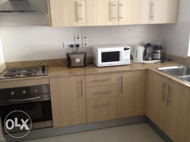 2 Bedrooms apartment decant furniture fully furnished Amwaj Island