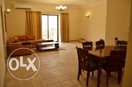 3 Bedroom furnished flat swimming pool, Gym in Um al hassam