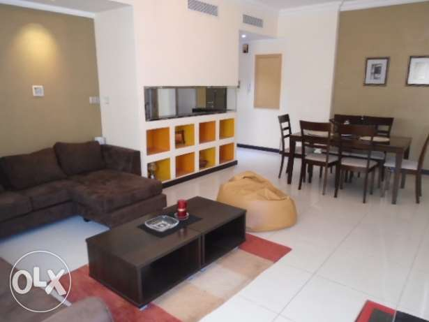 2 Bedrooms flat with closed kitchen