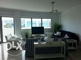 Luxurious 2 bedrooms apartment with modern furniture and huge balcony