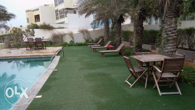 4 BR Fully Furnished Beach Villa For Rent in Amwaj Luxury