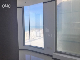 Sea and city view office space for rent in seef