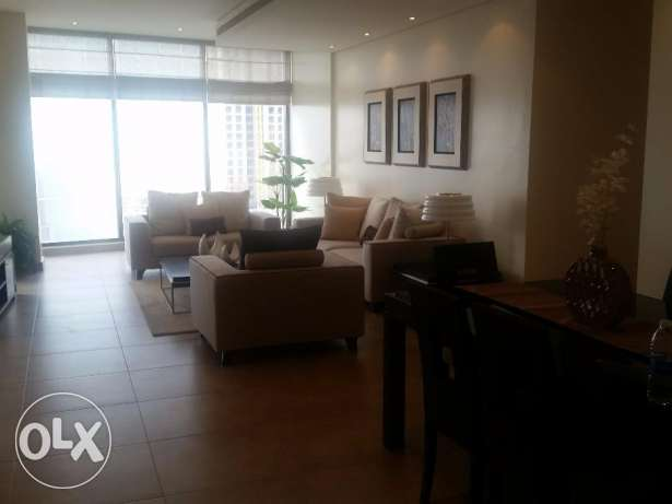 Stylish and modern 2 bedroom fully furnished apartment in Sanabis