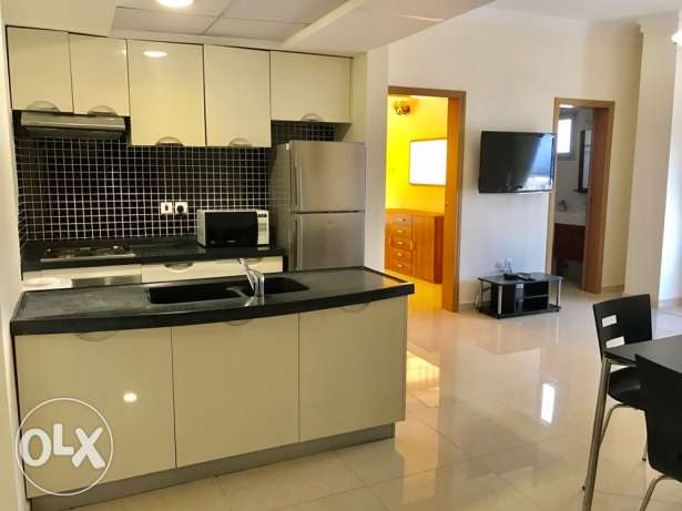 Spacious sea view 1 bedroom apartment in Amwaj 450 inclusive