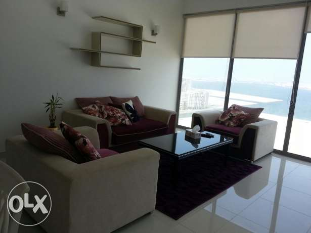 Modern elegent sea view 1 bed room for rent in Juffair tower