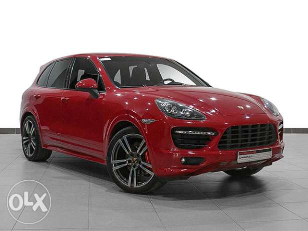 "Porsche Cayenne GTS Tiptronic RED ""Approved"""