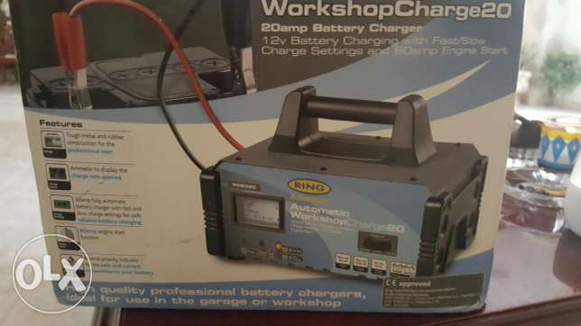 Proffetional battery charger