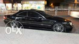 very clean Mercedes-Benz cl600
