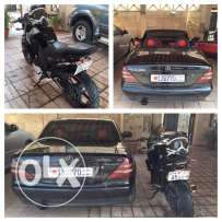 for sale mercedec and FZ 150