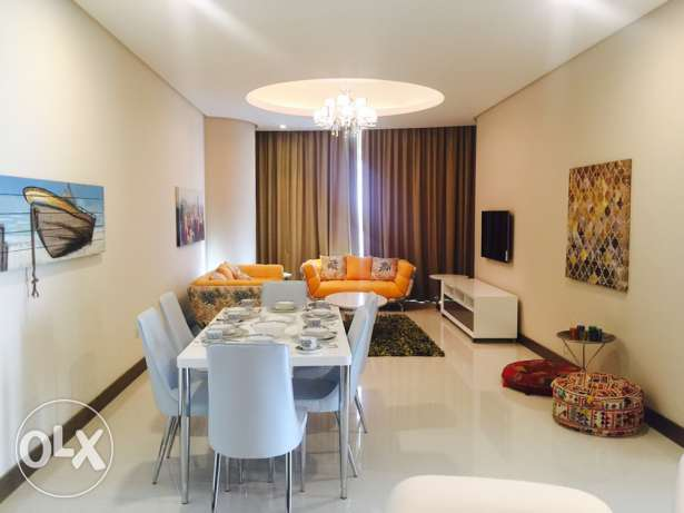 Two bedrooms Moder apartment for rent in Seef area. السيف -  1