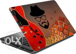 Red Vinyl Laptopskin