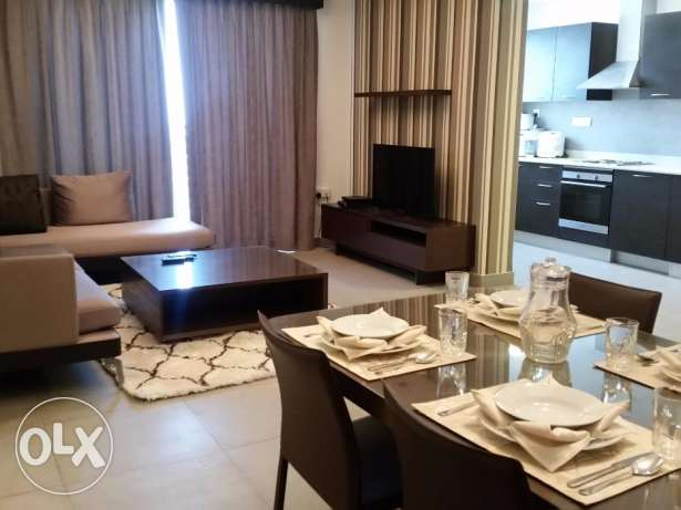 Two bedroom fully furnished nice apartment close to Juffair mall