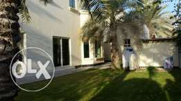 semi furnished villa close Saudi cauway